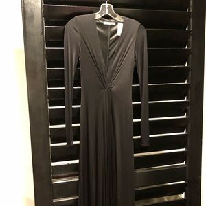 Long jersey evening gown by Laundry